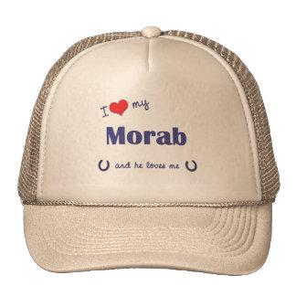 I Love My Morab (Male Horse) Trucker Hats