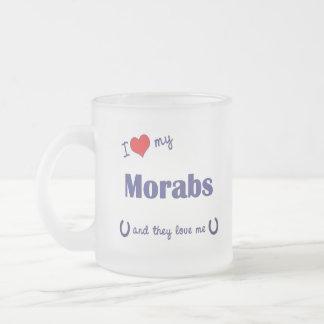 I Love My Morabs (Multiple Horses) Coffee Mugs