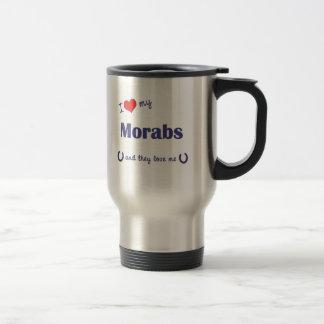 I Love My Morabs Multiple Horses Mugs