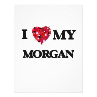 "I love my Morgan 8.5"" X 11"" Flyer"