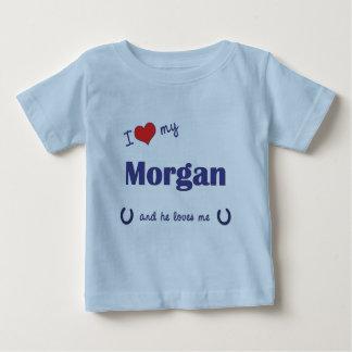 I Love My Morgan (Male Horse) Baby T-Shirt