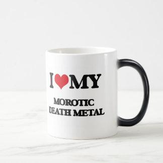 I Love My MOROTIC DEATH METAL 11 Oz Magic Heat Color-Changing Coffee Mug