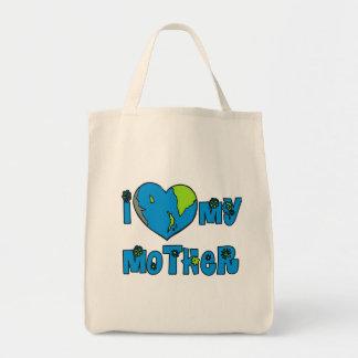 I Love My Mother Earth Tshirts, Mugs Tote Bag