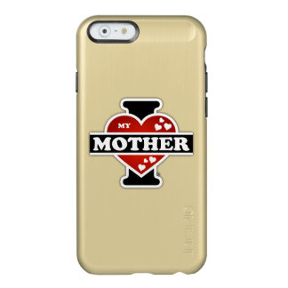 I Love My Mother Heartbeats Incipio Feather Shine iPhone 6 Case