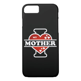 I Love My Mother Heartbeats iPhone 8/7 Case