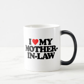 I LOVE MY MOTHER-IN-LAW 11 OZ MAGIC HEAT Color-Changing COFFEE MUG