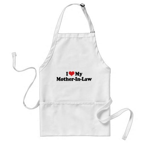 I Love My Mother-In-Law Aprons