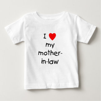 I love my mother-in-law baby T-Shirt