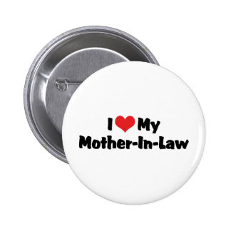 I Love My Mother-In-Law Button