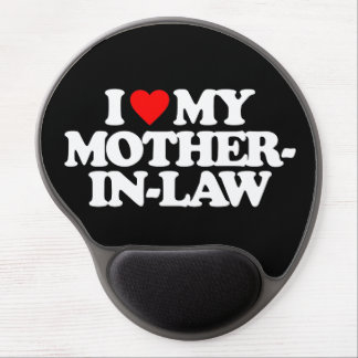 I LOVE MY MOTHER-IN-LAW GEL MOUSE MATS