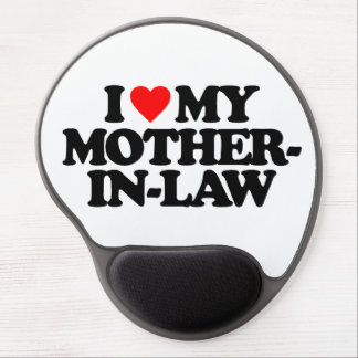 I LOVE MY MOTHER-IN-LAW GEL MOUSE MAT