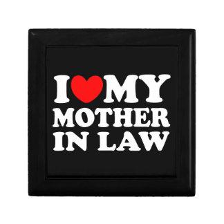 I Love My Mother In Law Trinket Box