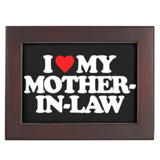 I LOVE MY MOTHER-IN-LAW KEEPSAKE BOX