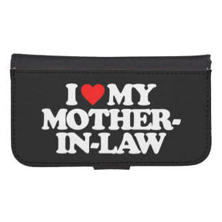 I LOVE MY MOTHER-IN-LAW GALAXY S4 WALLET
