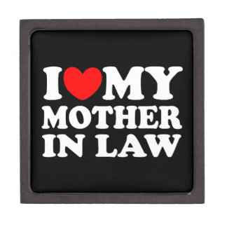 I Love My Mother In Law Premium Gift Box
