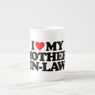 I LOVE MY MOTHER-IN-LAW TEA CUP