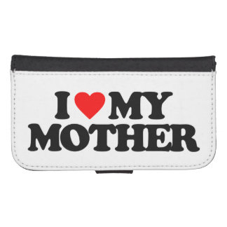 I LOVE MY MOTHER PHONE WALLET CASES