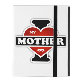 I Love My Mother To Infinity iPad Folio Case
