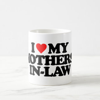 I LOVE MY MOTHERS-IN-LAW 11 OZ MAGIC HEAT Color-Changing COFFEE MUG