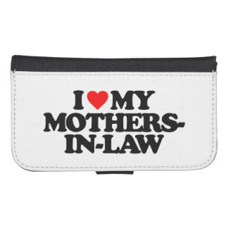 I LOVE MY MOTHERS-IN-LAW GALAXY S4 WALLET