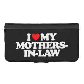 I LOVE MY MOTHERS-IN-LAW PHONE WALLET CASE