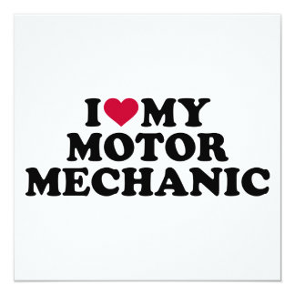 I love my motor mechanic card