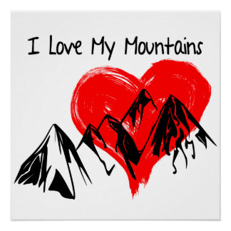 I Love My Mountains! Poster