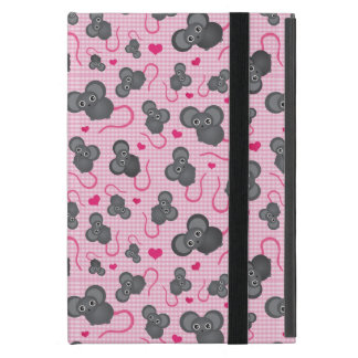 I love my mouse pattern in pink cases for iPad mini