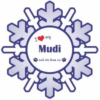 I Love My Mudi (Female Dog) Statuette