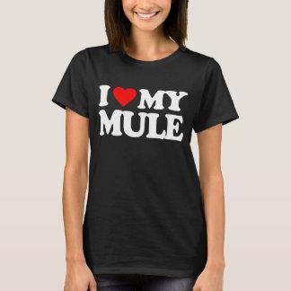 I LOVE MY MULE T-Shirt