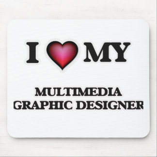 I love my Multimedia Graphic Designer Mouse Pad