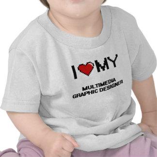 I love my Multimedia Graphic Designer Tshirts