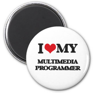 I love my Multimedia Programmer Magnet