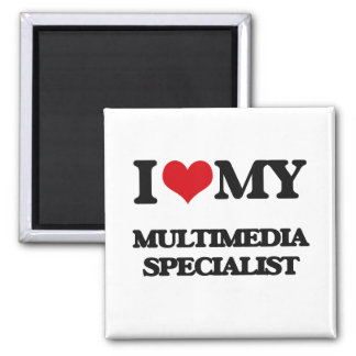 I love my Multimedia Specialist Magnet