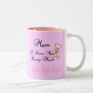I Love My Mum Beary Much Mug