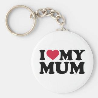 I love my mum keychains