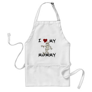 I Love My Mummy Item Adult Apron