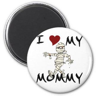 I Love My Mummy Item Magnet