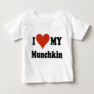 I Love My Munchkin Merchandise Baby T-Shirt