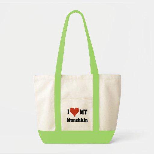 I Love My Munchkin Merchandise Impulse Tote Bag