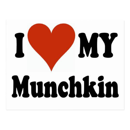 I Love My Munchkin Merchandise Postcard