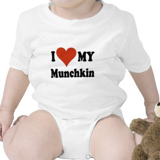 I Love My Munchkin Merchandise Bodysuit