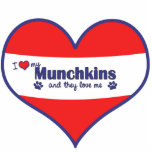 I Love My Munchkins (Multiple Cats) Photo Cutouts