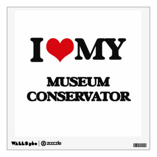 I love my Museum Conservator Room Graphics
