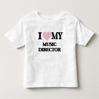I love my Music Director (Heart Made from Words) Tshirt
