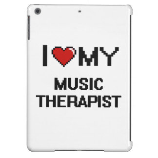 I love my Music Therapist iPad Air Cover