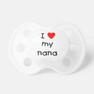 I love my nana BooginHead pacifier