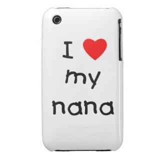 I love my nana iPhone 3 cover