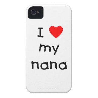 I love my nana iPhone 4 Case-Mate cases