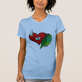 I Love my Nanday Conure T-Shirt